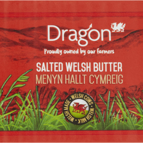 Dragon Welsh salted Butter
