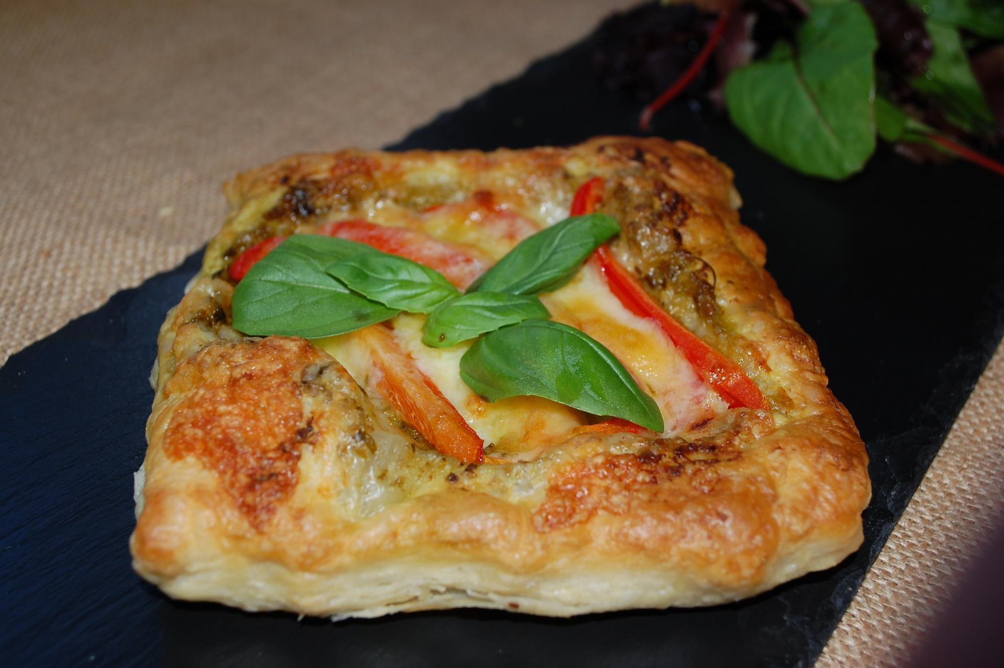 Cheese and Pepper tart