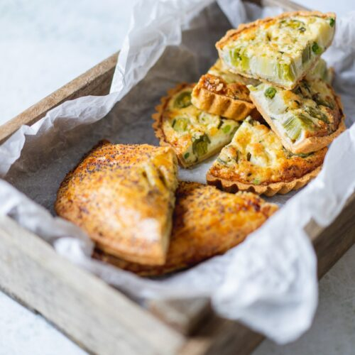 Giant Cheese, Onion and Leek pasty